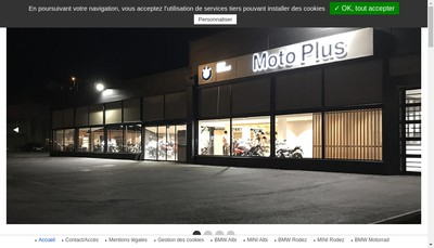Site internet de Moto Plus