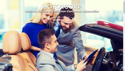 Site internet de Motorcorp