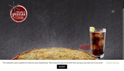 Site internet de Le Moulin a Pizzas