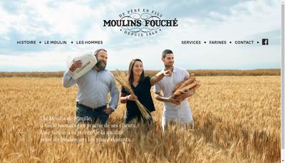 Site internet de Moulins Fouche