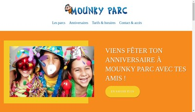 Site internet de Mounky Parc