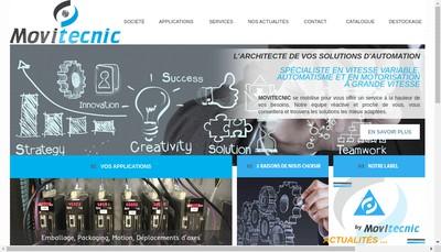 Site internet de Movitecnic