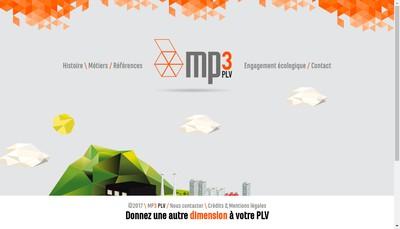 Site internet de Mp3 Plv