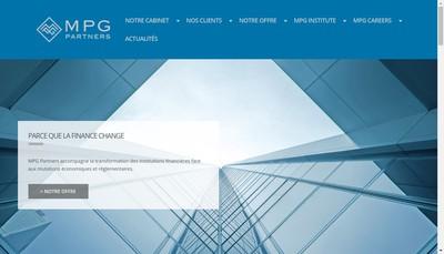 Site internet de Mpg Partners