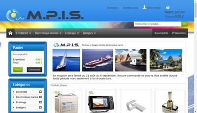 Site internet de MPIS