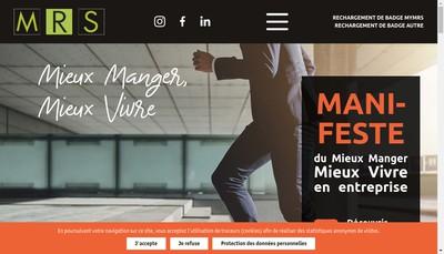 Site internet de Mrs Paris