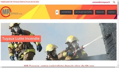 Site internet de MR Tuyaux