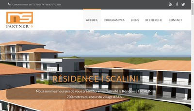 Site internet de Ms Partners