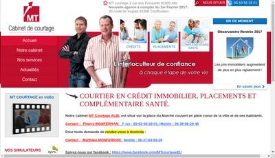 Site internet de Mt Courtage