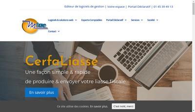 Site internet de Mtae Management Techniques Associes Engineering