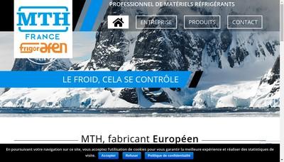 Site internet de Mth France SAS