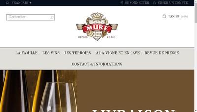 Site internet de Mure SARL
