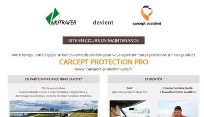 Site internet de Mutrafer Courtage et Conseil Assurances
