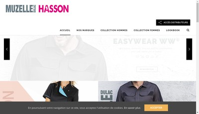 Site internet de Muzelle Dulac Hasson