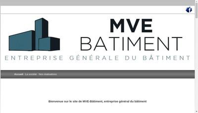 Site internet de Mve Batiment