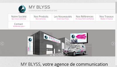 Site internet de My Blyss