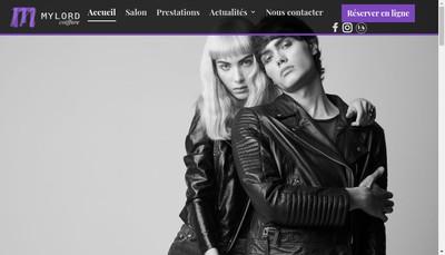 Site internet de Salon Mylord