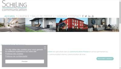 Site internet de Schilling Communication