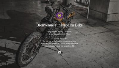 Site internet de Napalm Bike