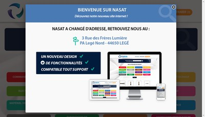 Site internet de NASAT