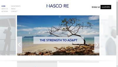 Site internet de Nasco France