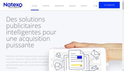 Site internet de Natexo Group