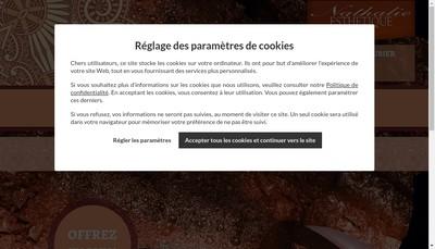Site internet de Nathalie Esthetique