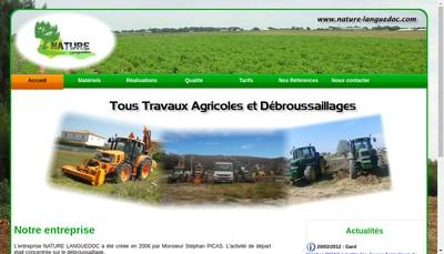 Site internet de Nature Languedoc