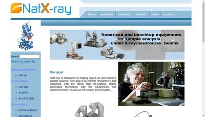 Site internet de Natx-Ray