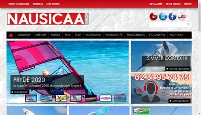 Site internet de Nausicaa