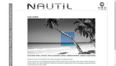 Site internet de Nautil