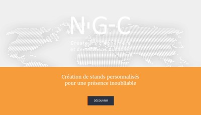 Site internet de Navaloo Global Communication - NGC