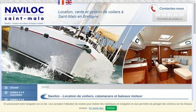 Site internet de Naviloc