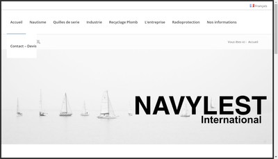 Site internet de Navy-Lest International