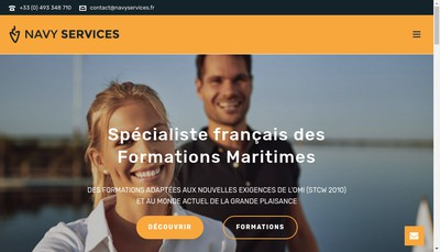 Site internet de Navy-Services