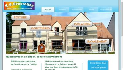 Site internet de Nb Renovation