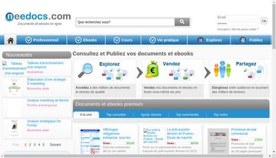 Site internet de Needocs