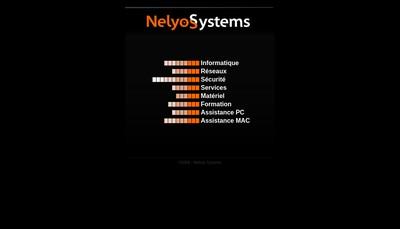 Site internet de Nelyos Systems