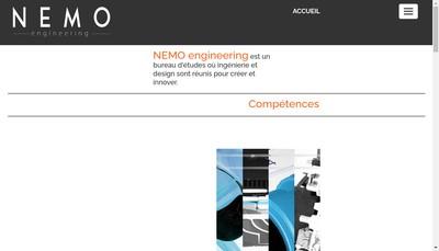 Site internet de Nemo Engineering