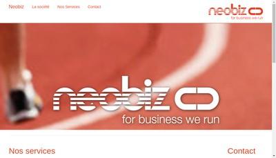 Site internet de Neobiz