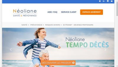 Site internet de Neoliane Sante