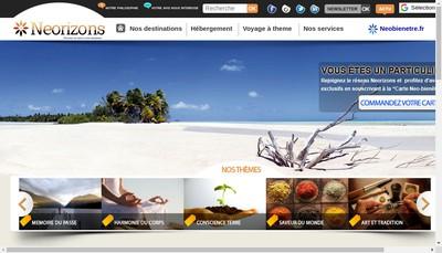 Site internet de Neorizons