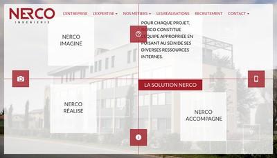 Site internet de Nerco Ingenierie