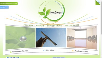 Site internet de Netgreen