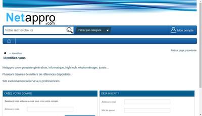 Site internet de Netappro