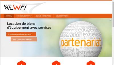 Site internet de New Fi