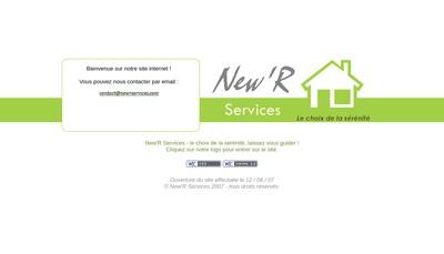 Site internet de New'R Services