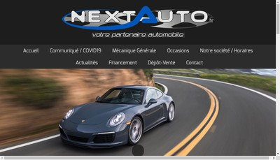 Site internet de Next-Auto