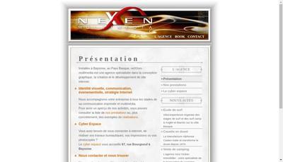 Site internet de Nexxen-Multimedia