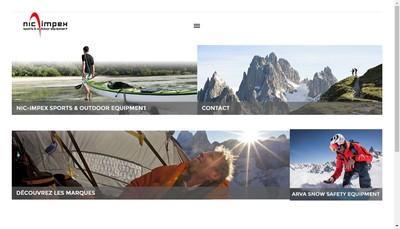 Site internet de Sports et Loisirs